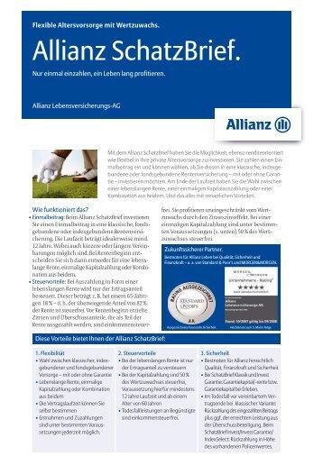 Allianz Schatzbrief Perspektive