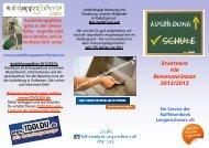 Starthilfe für Schulabgänger - Raiffeisenbank Langenschwarz eG
