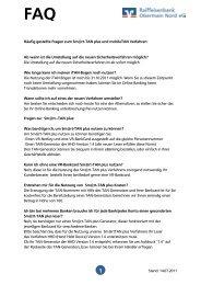 Stand: 14.07.2011 Häufig gestellte Fragen zum Sm@rt-TAN plus ...