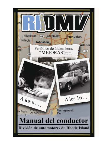 Rhode Island Driver's Manual - Rhode Island Division of Motor ...