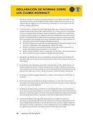 declaración de normas sobre los clubes rotaract - Rotary International