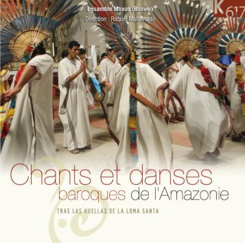 Ensamble Moxos (Bolivie) - CD Baroque - K617