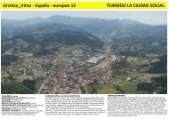 Urretxu_Irimo - España - europan 12 TEJIENDO LA CIUDAD SOCIAL