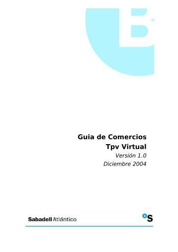 Guia de Comercios Tpv Virtual - a5ad0r