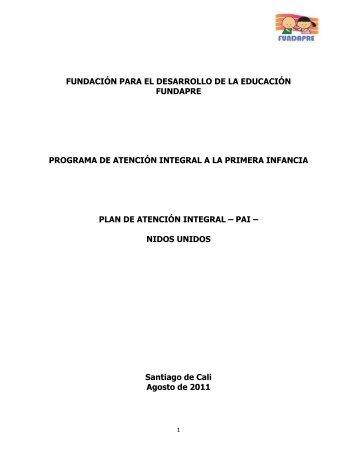PAI Nidos Unidos - Fundación FESCO
