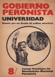 Gobierno Peronista N° 8 - Ruinas Digitales