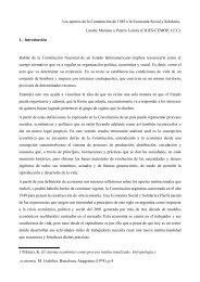 Los aportes de la Constitución de 1949 a la Economía Social y ...