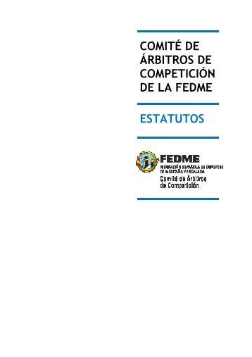 descargar estatutos comite de arbitros fedme - Euskal Trail