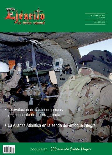 revista ejército nº 822. octubre 2009 - Portal de Cultura de Defensa ...