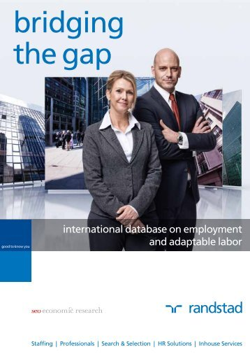 bridging the gap - Randstad