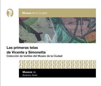 Las primeras telas de Vicente y Simonetta - Museos de Buenos Aires