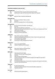 CALENDARIO ACADÉMICO 2012-2013 - Esic