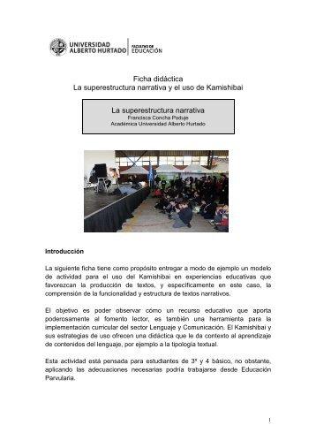 ficha didactica - Universidad Alberto Hurtado