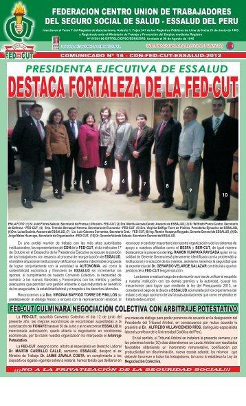 Abrir comunicado 16 en - federacion centro union de trabajadores ...