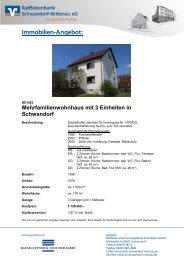 Immobilien-Angebot: - Raiffeisenbank Schwandorf-Nittenau eG