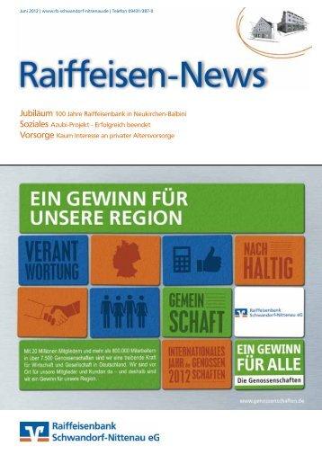 01/2012 - Raiffeisenbank Schwandorf-Nittenau eG