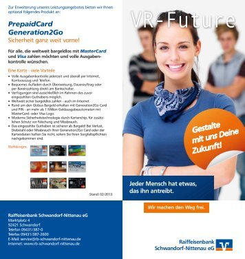 VR-Future - Raiffeisenbank Schwandorf-Nittenau eG