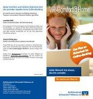 Flyer - Raiffeisenbank Schwandorf-Nittenau eG