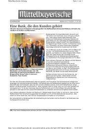 Eine Bank, die den Kunden gehört - MZ 03/2013 - Raiffeisenbank ...