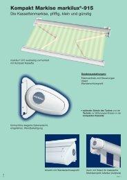 Kompakt Markise markilux®-915
