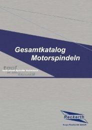 Gesamtkatalog Motorspindeln (ca. 3,2 MB)