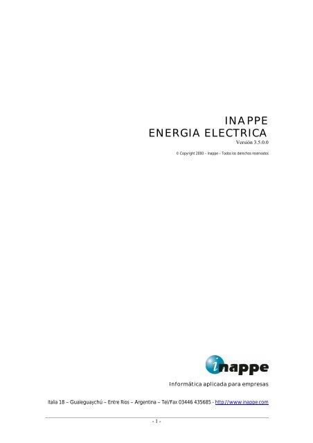 Descripcion en formato PDF - Inappe