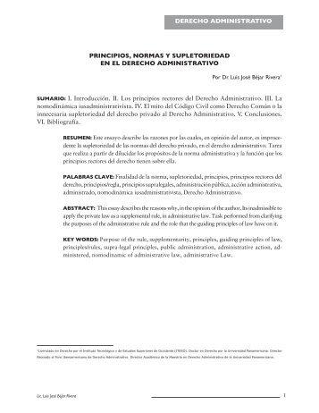 jose roldan xopa derecho administrativo pdf