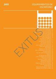 EQUIPAMENTOS DE ESCRITÓRIO 2013 - Exitus