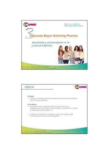 Encuesta Bayer Schering Pharma - daphne