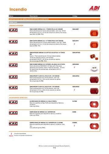 Dispositivos opticos acusticos - ADI-GARDINER