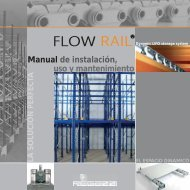 FLOW RAIL ® Manual d'instalación, uso y mantenimiento