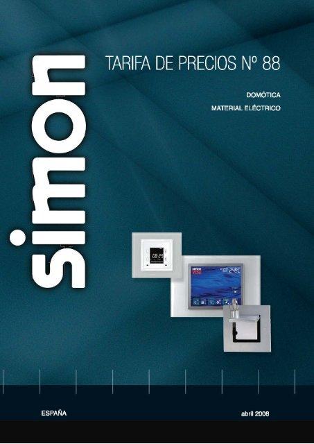 Tecla Grupo 1 Conmutador Simon 82027-30 1 Pulsador