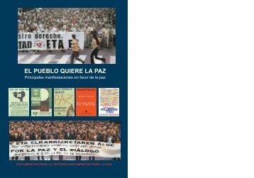 El pueblo quiere la paz - addh.org.es