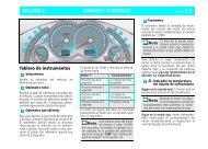 MANDOS Y CONTROLES SECCIÓN 6 Tablero de instrumentos *