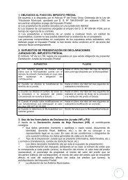 Indicaciones para el llenado de formularios incluyendo ejemplos ...
