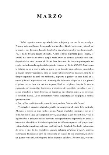 M A R Z O - Antônio Tallon Y Castilla