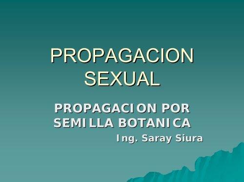 PROPAGACION SEXUAL - Corpoica