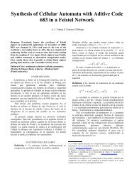 Synthesis of Cellular Automata with Aditive Code 683 in a Feistel ...