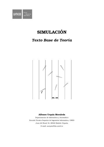 SIMULACI´ON - UNED