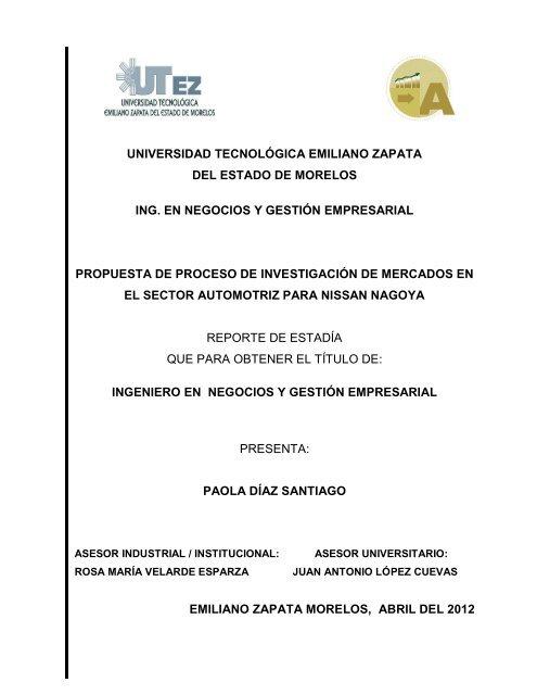 Universidad Tecnológica Emiliano Zapata Del Estado De Utez