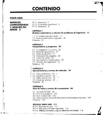 Chapra & Canale – Capitulos 1-11 - Ingeniería de Sistemas (Unefa ...
