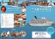 Reiseprospekt - MS Artania - Raiffeisenbank eG