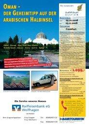 Programm und Informationen zur Reise als pdf-Dokument