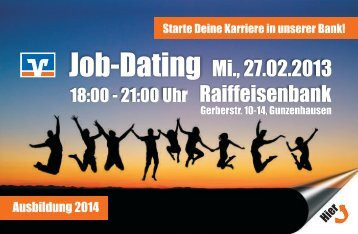 Flyer Job-Dating.CDR - Raiffeisenbank Weißenburg-Gunzenhausen ...
