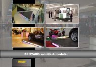 View System (RS stage mobile & modular) - RAPPICH