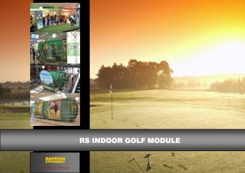 RS INDOOR GOLF MODULE - RAPPICH