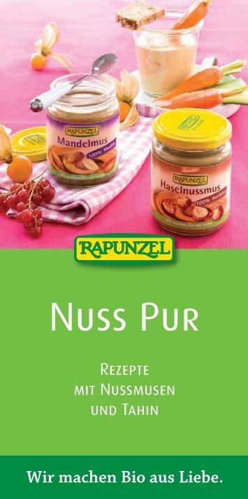 Nuss Pur - Rezepte (3.9 MB) - Rapunzel