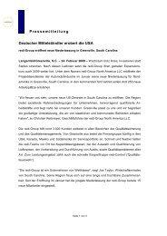 Pressemitteilung Deutscher Mittelständler erobert die ... - redi-Group