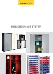 Gesamtkatalog - Mauser Einrichtungssysteme GmbH & Co. KG
