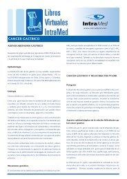 CANCER GASTRICO - IntraMed
